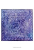 Batik Nebula II Framed Print