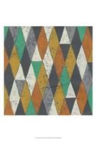 Lucien's Pattern I Framed Print