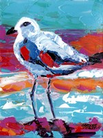 Seaside Birds I Fine Art Print