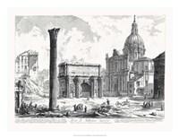 Arco de Settimo Severo Fine Art Print
