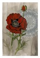 Bohemian Botanical III Framed Print