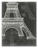 Iconic Blueprint II Framed Print