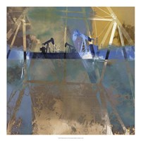 Oil Rig Abstraction I Framed Print