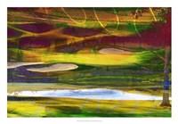 Golf Abstract II Framed Print