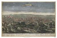Bird's Eye View of Rome Fine Art Print