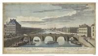 Le Pont Royal, Paris Fine Art Print