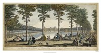 View of Fontainebleau III Fine Art Print