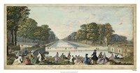 View of Fontainebleau IV Fine Art Print