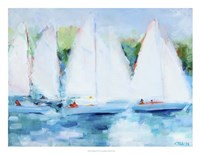 Youth Regatta Fine Art Print