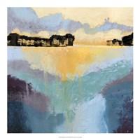 Back Bay Sun II Framed Print