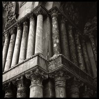 San Marco Columns Fine Art Print