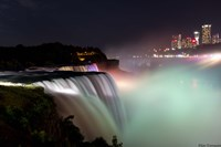 Lights On The Falls Fine Art Print