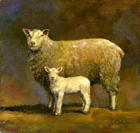 Taffy's Lamb Fine Art Print