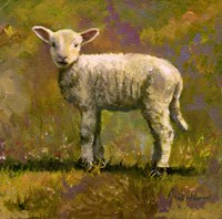 Leap Year Lamb Fine Art Print