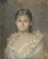 Portrait Of The Comtesse Dina De Toulouse-Lautrec, 1883 Fine Art Print