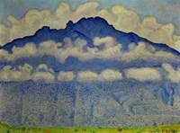 Landscape In The Berne Oberland (Die Schynige Platte), 1909 Fine Art Print