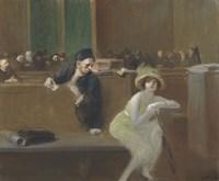 Tribunal Scene Fine Art Print