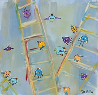 Climb or Fly? Fine Art Print