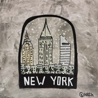 New York Snowglobe Framed Print