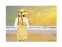 Girl 1910 Fine Art Print