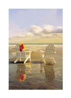 Chairs on the Beach Fine Art Print