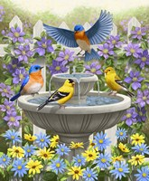 Fountain Festivities Fine Art Print