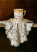 Demi Cup & Lace Cropped Fine Art Print