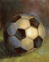 Soccer Ball Fine Art Print
