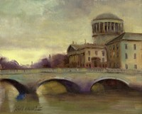 Liffey River, Ireland Fine Art Print