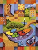 San Antonio Fine Art Print