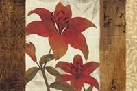 Floral Harmony I Fine Art Print