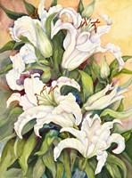Lilies Basking in the Sun Fine Art Print