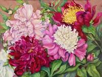 Cheryl's Peony Garden Fine Art Print