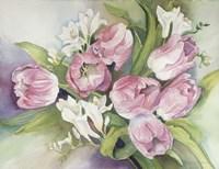 Tulips In Spring Fine Art Print
