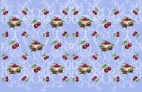 Cherry Fabric 5 Fine Art Print