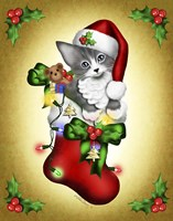 Santa Paws Fine Art Print