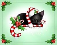 Candy Cane Christmas Fine Art Print