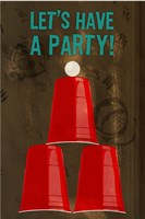 Let's Have A Party Fine Art Print