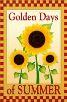 Golden Days of Summer Fine Art Print
