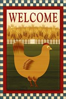 Welcome Hen Fine Art Print
