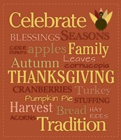 Celebrate Thanksgiving Fine Art Print