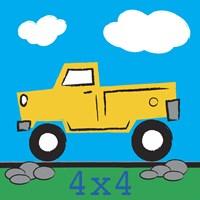 4x4 Truck Framed Print