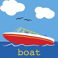 Boat Fine Art Print