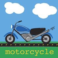 Motorcycle Fine Art Print