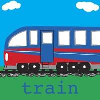 Train - Modern Fine Art Print