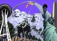 Landmarks and Monuments Fine Art Print