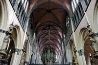 Onze Lieve Vrouwekerk, Bruges, Belgium Fine Art Print