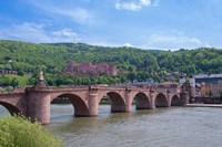 Carl Theodor Bridge, Heidelberg Castle Fine Art Print
