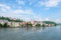Danube River, Passau Fine Art Print