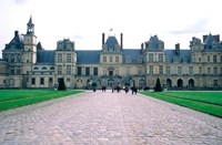 Fontainebleau Palace, France Fine Art Print
